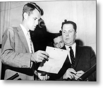 Robert Kennedy, Chief Counsel Metal Print by Everett