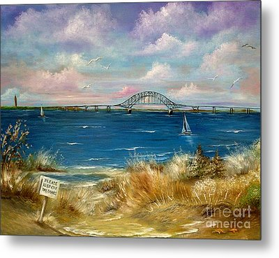 Robert Moses Bridge Metal Print by Patrice Torrillo