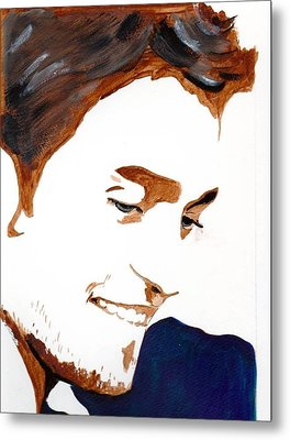 Robert Pattinson 14 Metal Print