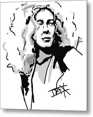 Robert Plant Metal Print by Danielle LegacyArts