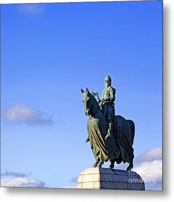Metal Print featuring the photograph Robert The Bruce King Of Scots  by Craig B