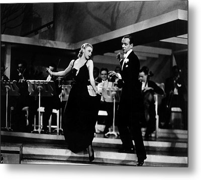 Roberta, Ginger Rogers, Fred Astaire Metal Print by Everett
