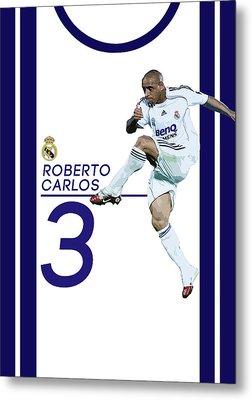 Roberto Carlos Metal Print by Semih Yurdabak