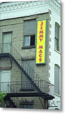 Metal Print featuring the photograph Rochester, New York - Jimmy Mac's Bar 2 by Frank Romeo
