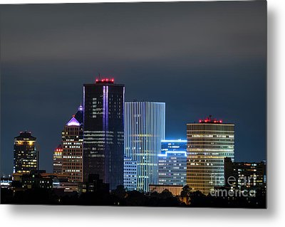 Rochester Ny Twilight Metal Print