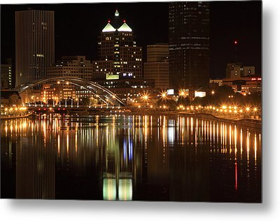 Rochester On The Genesee Metal Print by Don Nieman