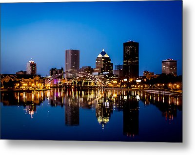 Rochester Reflections Metal Print