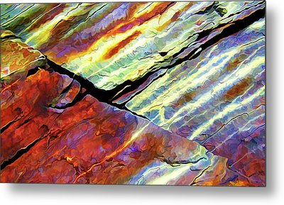 Rock Art 16 Metal Print