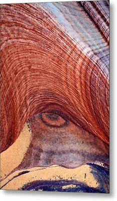 Metal Print featuring the photograph Rock Art by Farol Tomson