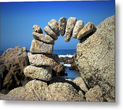 Rock Art One Metal Print by Joyce Dickens