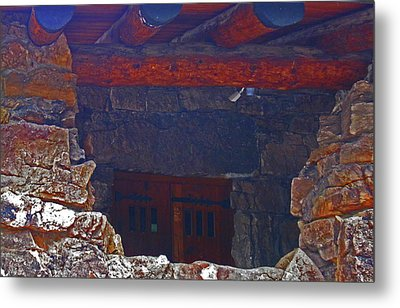 Metal Print featuring the photograph Rock Building by Tammy Sutherland
