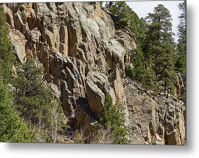 Metal Print featuring the photograph Rock Climbers Paradise by James BO Insogna