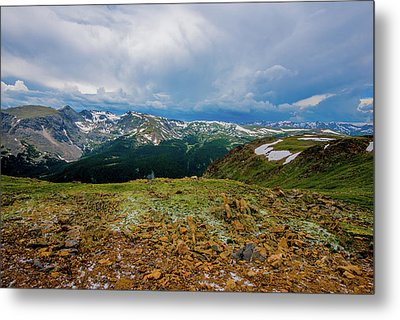 Rock Cut 2 - Trail Ridge Road Metal Print
