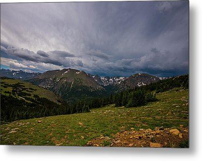 Rock Cut 3 - Trail Ridge Road Metal Print