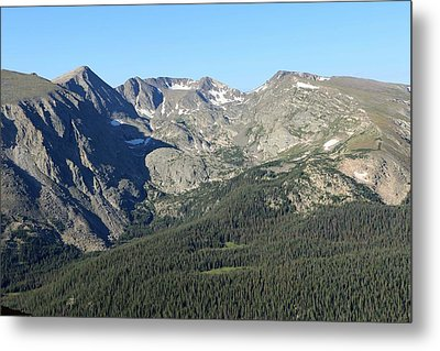 Rock Cut - Rocky Mountain National Park Metal Print by Pamela Critchlow
