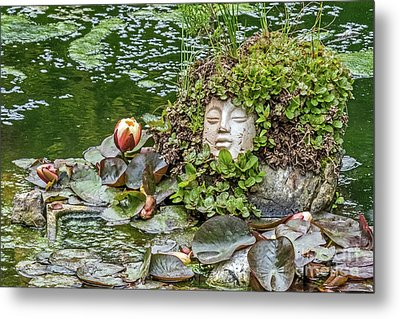 Rock Face Revisited Metal Print by Kate Brown