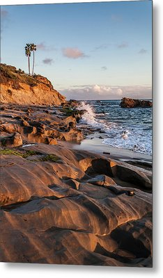Metal Print featuring the photograph Rock Formation Along The California Coast by Cliff Wassmann