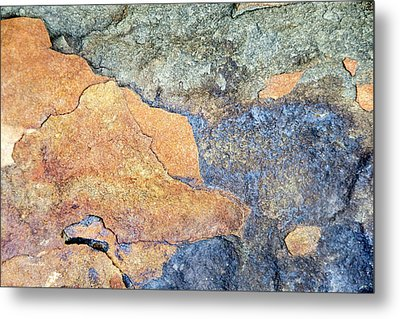 Metal Print featuring the photograph Rock Pattern by Christina Rollo
