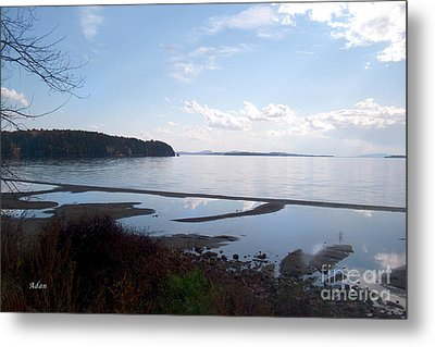 Metal Print featuring the photograph Rock Point North View Horizontal by Felipe Adan Lerma
