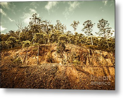 Rock Quarry Landscape Metal Print by Jorgo Photography - Wall Art Gallery