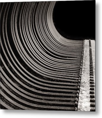 Metal Print featuring the photograph Rock Rake by Susan Capuano