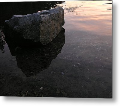 Rock Reflections Metal Print