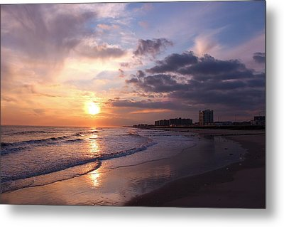 Rock Rock Rockaway Beach Metal Print