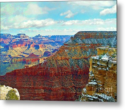 Metal Print featuring the photograph Rock Solid by Roberta Byram