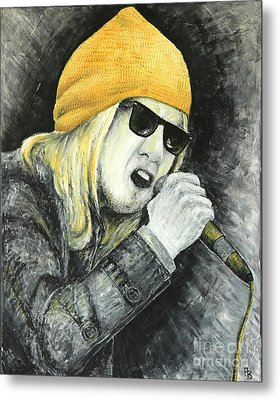 Rock Star Metal Print
