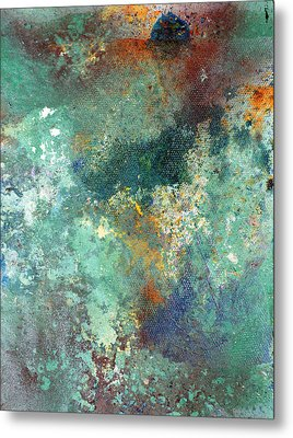 Rock Surface Metal Print by Rob Woods