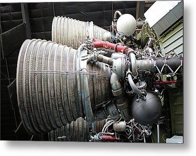 Rocket Engines Metal Print