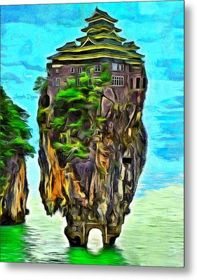 Rockhouse Island Metal Print by Leonardo Digenio