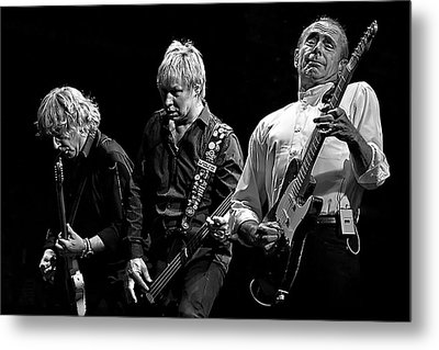 Rockin' All Over The World Metal Print