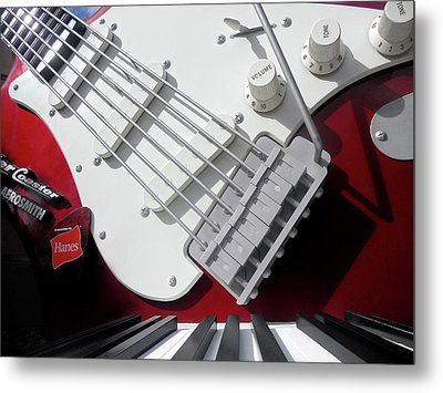 Metal Print featuring the photograph Rock'n Roller Coaster Aerosmith by Juergen Weiss
