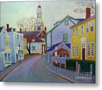 Rockport  Mass Metal Print by Rae  Smith