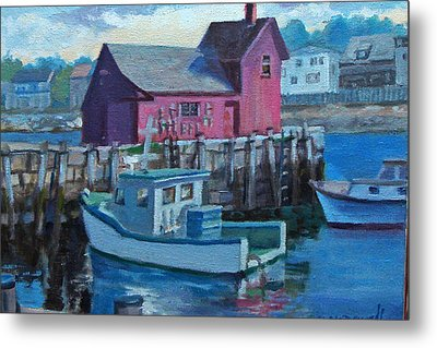 Rockport  Metal Print by Michael McDougall