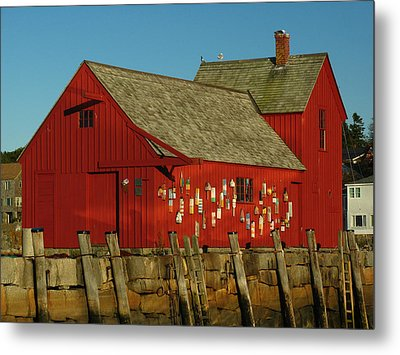 Rockport Motif Number 1 Metal Print by Juergen Roth