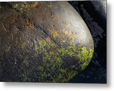 Metal Print featuring the photograph Rocks From Talisker Beach 3 by Davorin Mance
