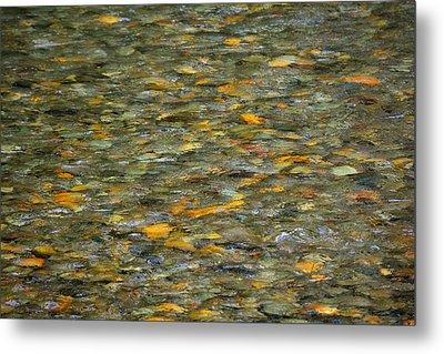 Rocks Under Water Metal Print