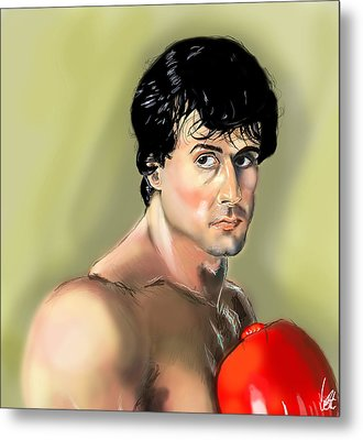 Rocky Balboa Metal Print by Vinny John Usuriello