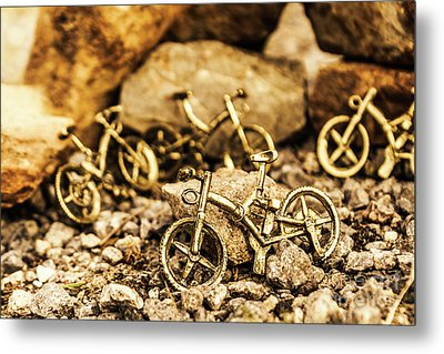 Rocky Cape Bicycles Metal Print by Jorgo Photography - Wall Art Gallery
