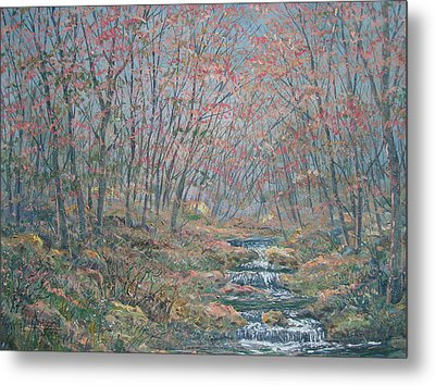 Rocky Forest. Metal Print