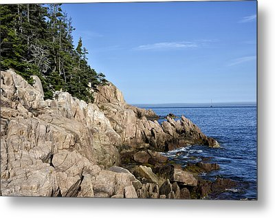 Rocky Maine Coast Metal Print