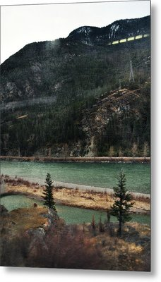 Rocky Mountain Foothills Montana Metal Print by Kyle Hanson