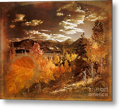 Rocky Mountain Gold 2015 Metal Print