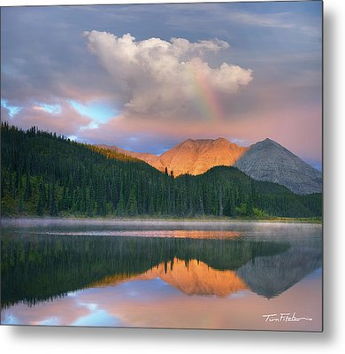 Rocky Mountain Metal Print by Tim Fitzharris
