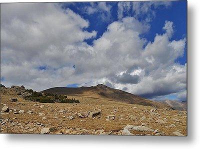 Rocky Mountain Tundra Metal Print