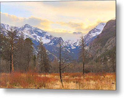 Rocky Mountain Wilderness Sunset View Metal Print by James BO Insogna
