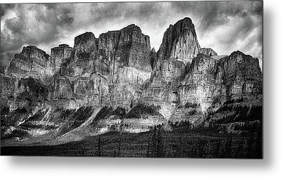 Rocky Mountains Metal Print by Naman Imagery
