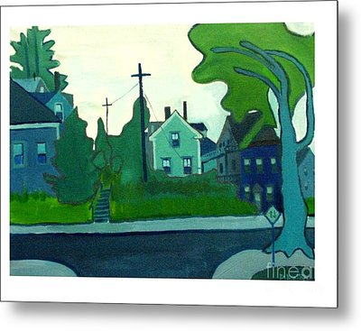 Rocky Neck Art Colony East Gloucester Ma Metal Print by Debra Bretton Robinson